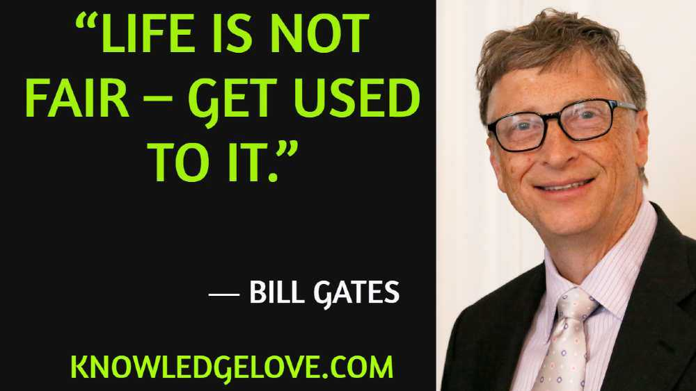 Bill Gates Quotes on Life