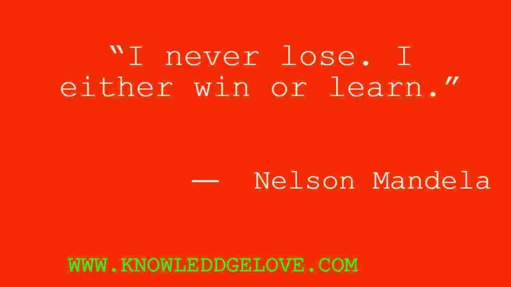Nelson Mandela Famous Quotes
