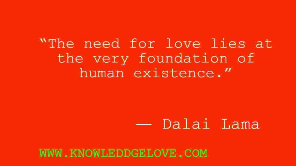 Dalai Lama Love Quotes