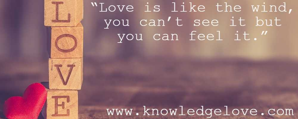 Love Quotes on Feelings