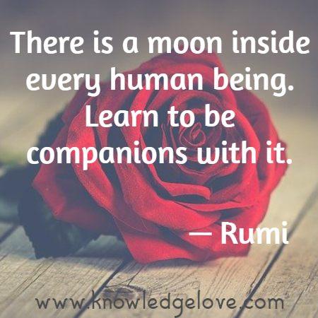 Rumi Quotes Nature
