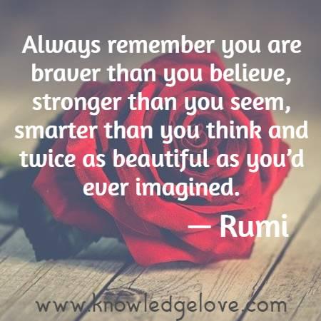 rumi motivational quotes