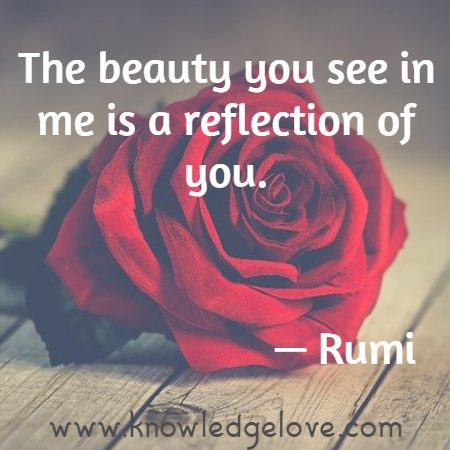 rumi quotes on beauty