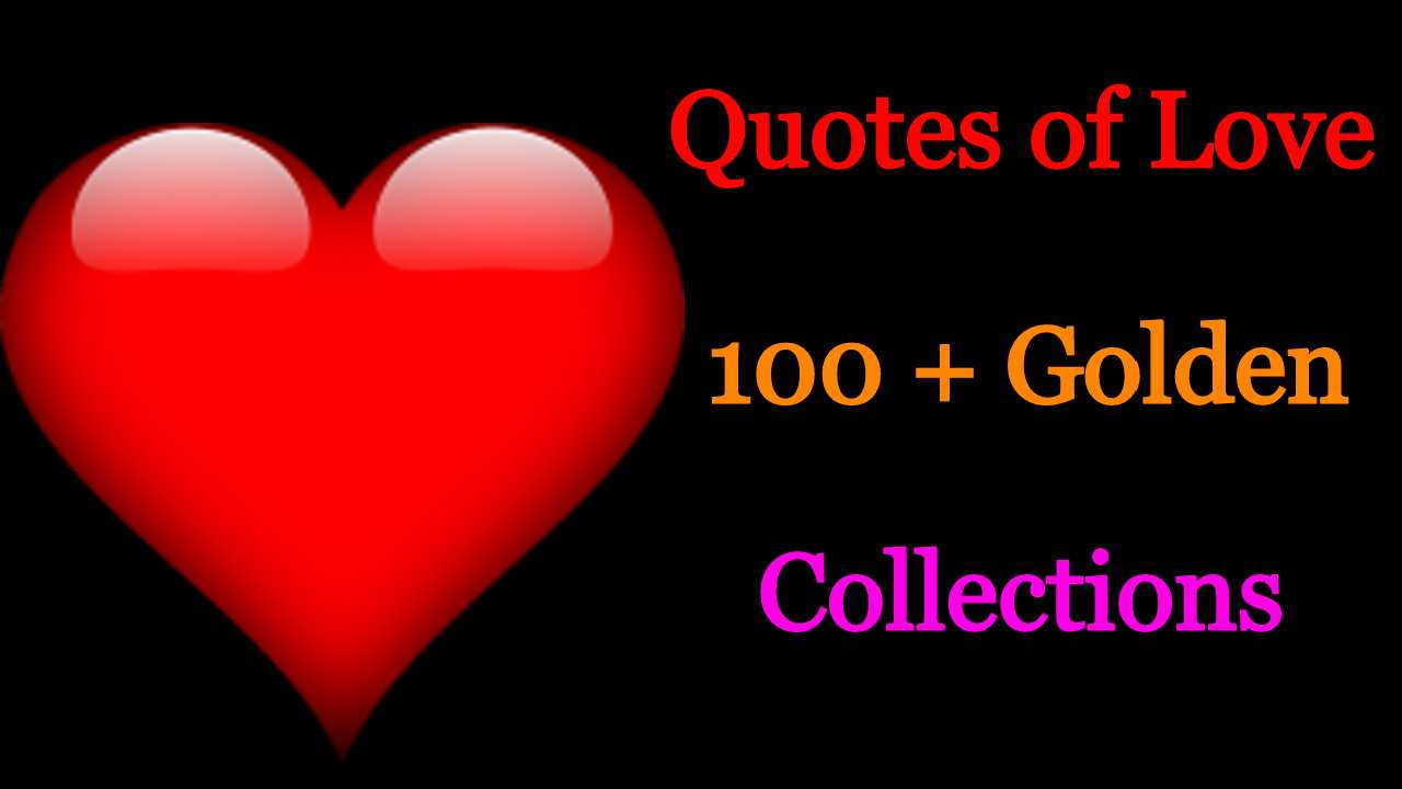 Best Quotes of Love Collection